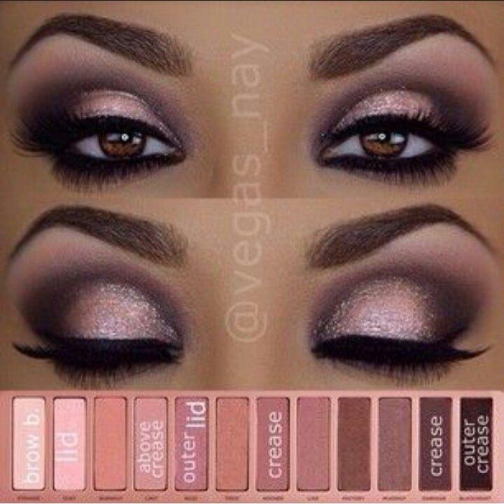 Nowoczesny Makijaż Smoky Eyes Bardzo łatwy Do Wykonania